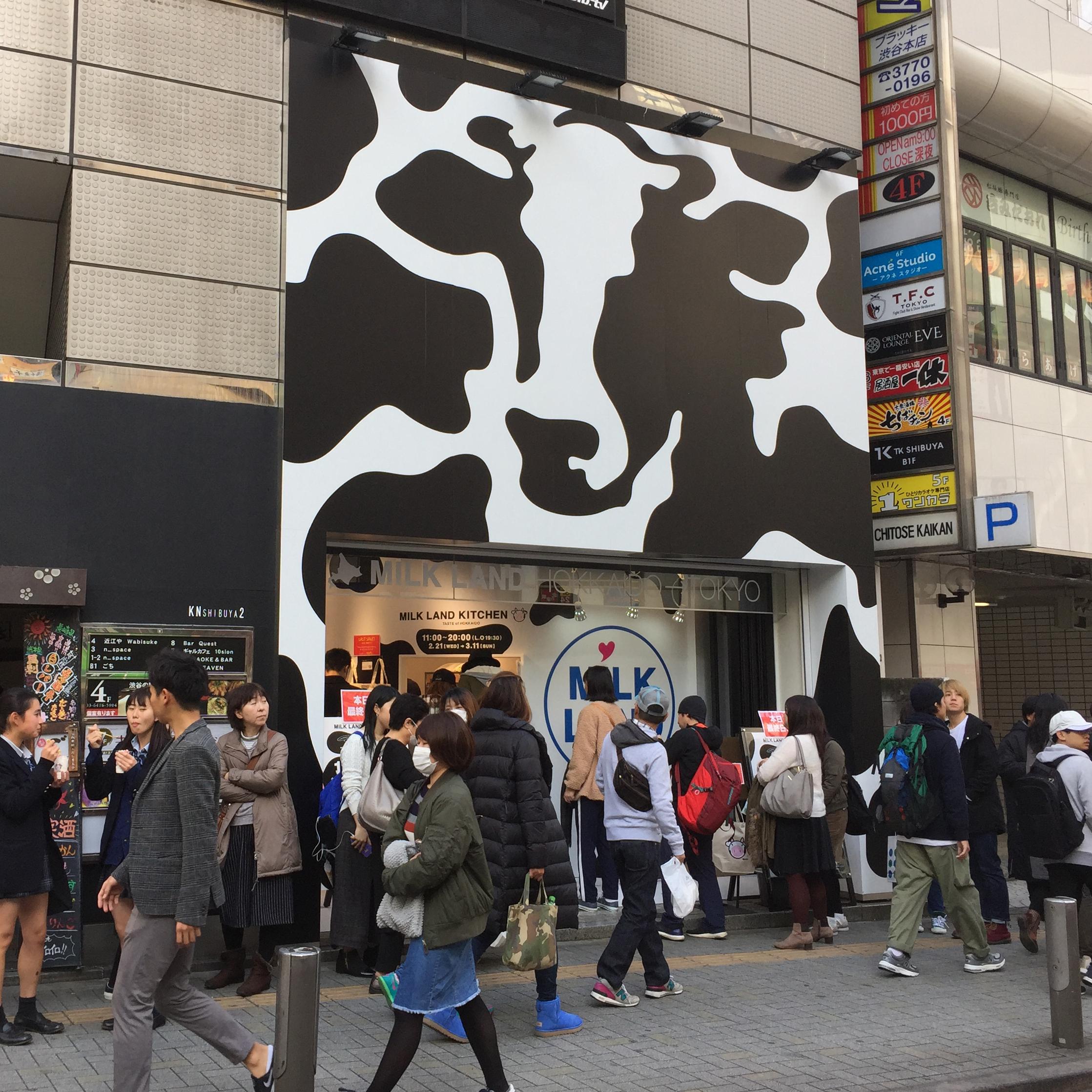 MILKLAND HOKKAIDO → TOKYO - thumb1