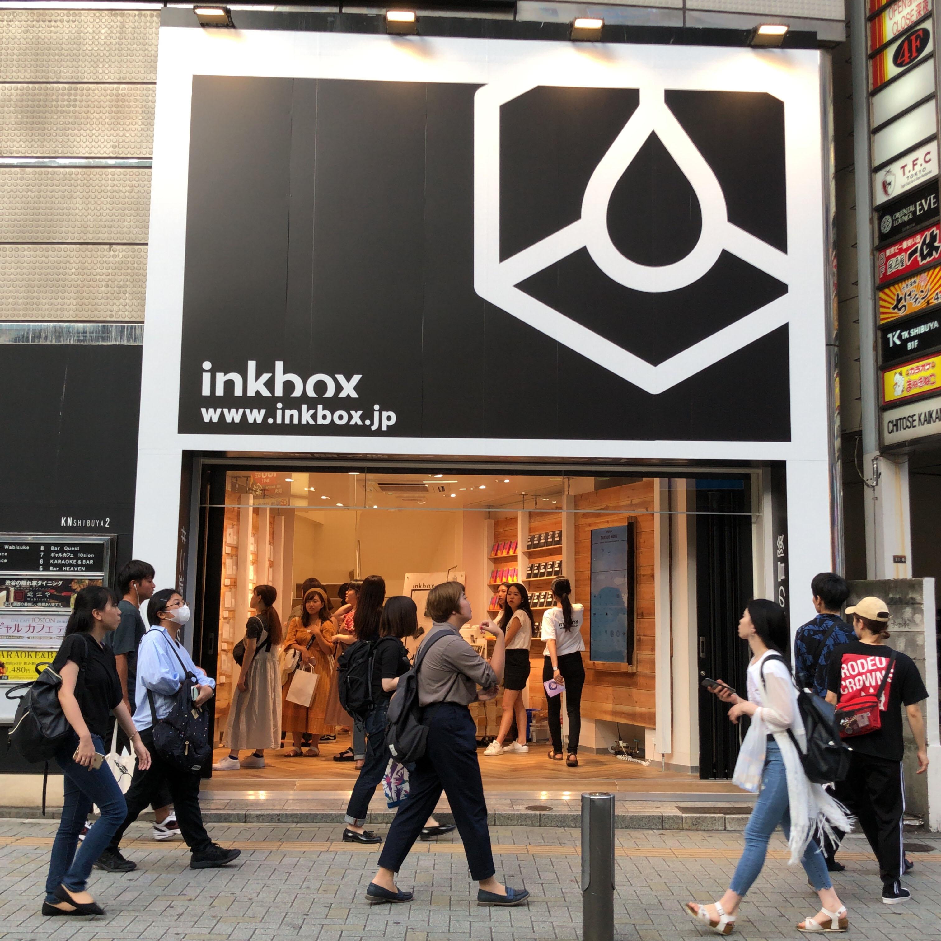 2週間で消えるオーガニックタトゥー「inkbox」POP-UP SHOP@渋谷 - thumb1